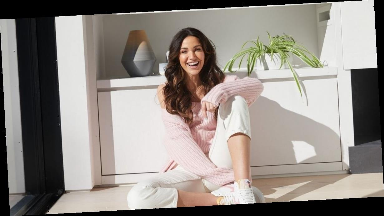 Michelle Keegan looks stunning as she shows off casual style in new Very collection