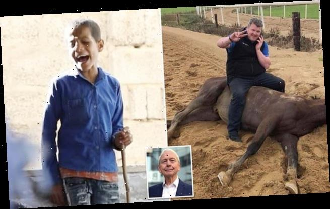 JOHN HUMPHRYS: One of these pictures is an outrage, not what you think