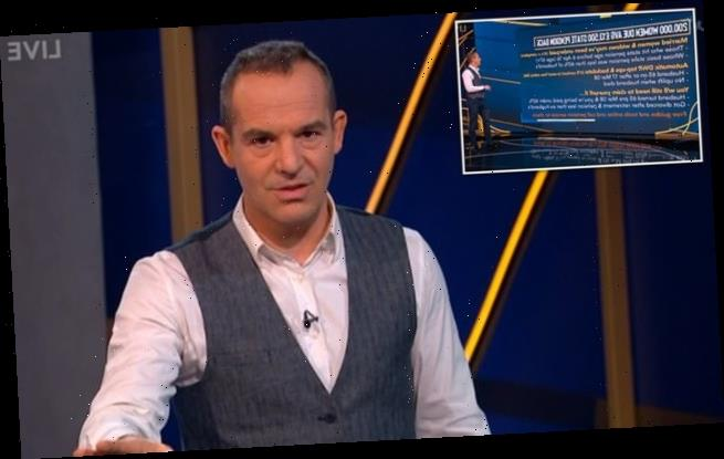 Martin Lewis warns 200,000 women could be owed £13,500 from the DWP