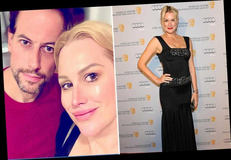Alice Evans says Ioan Gruffudd still has her Twitter password and claims 'daughter found out about divorce from papers'