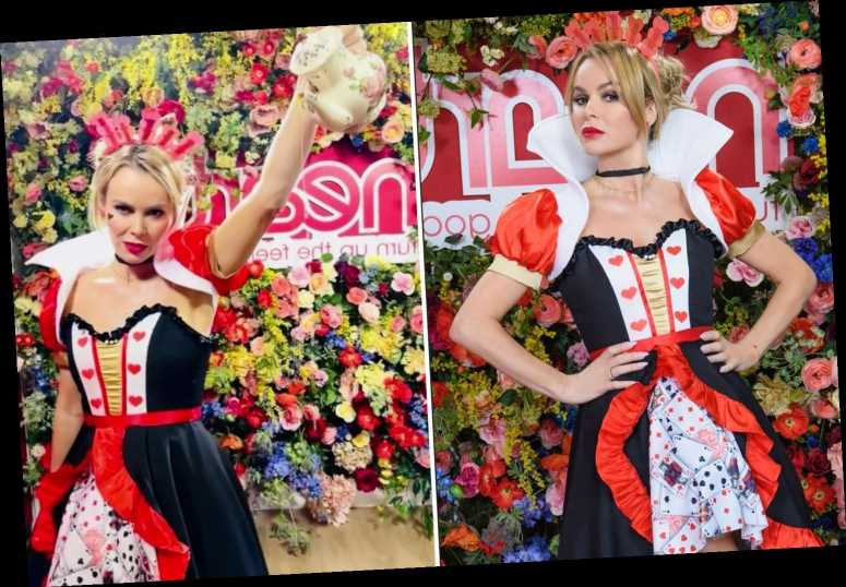 Amanda Holden looks incredible as she dresses as the Queen Of Hearts for World Book Day