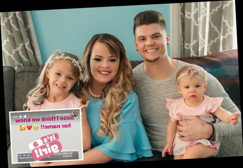 Teen Mom's pregnant Catelynn Lowell reveals she has already chosen a name for fourth daughter with Tyler Baltierra