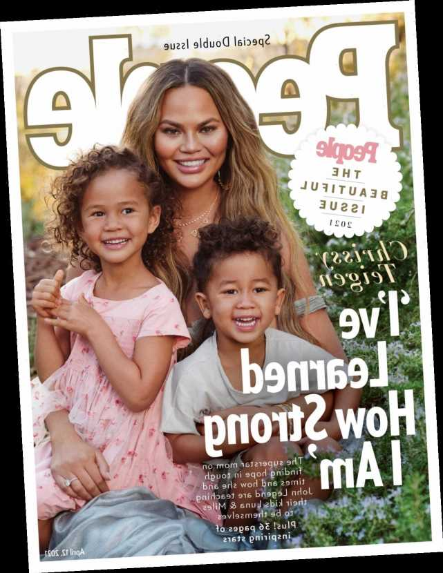 Chrissy Teigen is People Magazine's 'Most Beautiful Person' for 2021