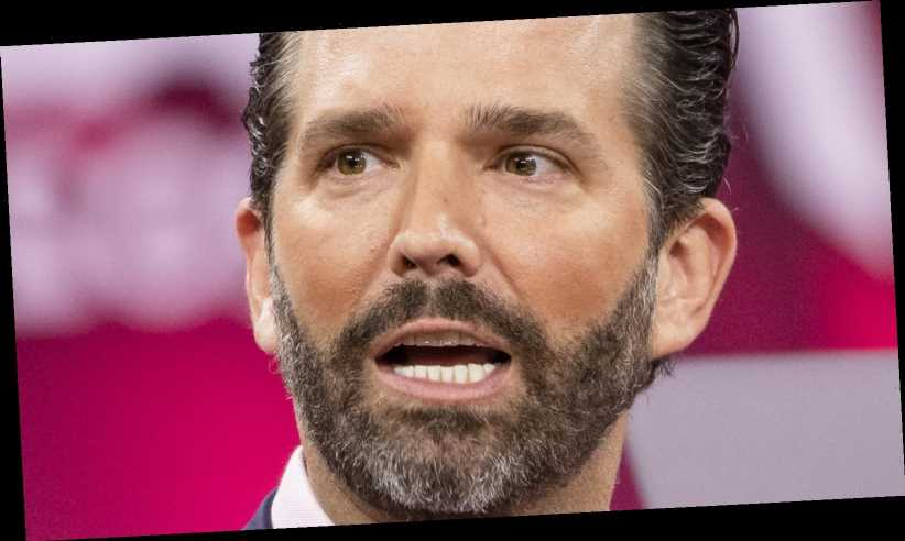 Donald Trump Jr. Lets Out His Feelings About His Father's CPAC Speech