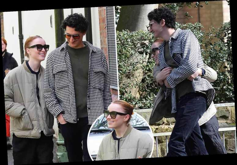 Bridgerton's Phoebe Dynevor makes a rare appearance with male pal after being linked to Pete Davidson