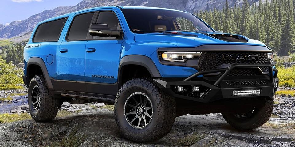 Hennessey Performance Converts RAM 1500 TRX Into $375k USD Seven Seater