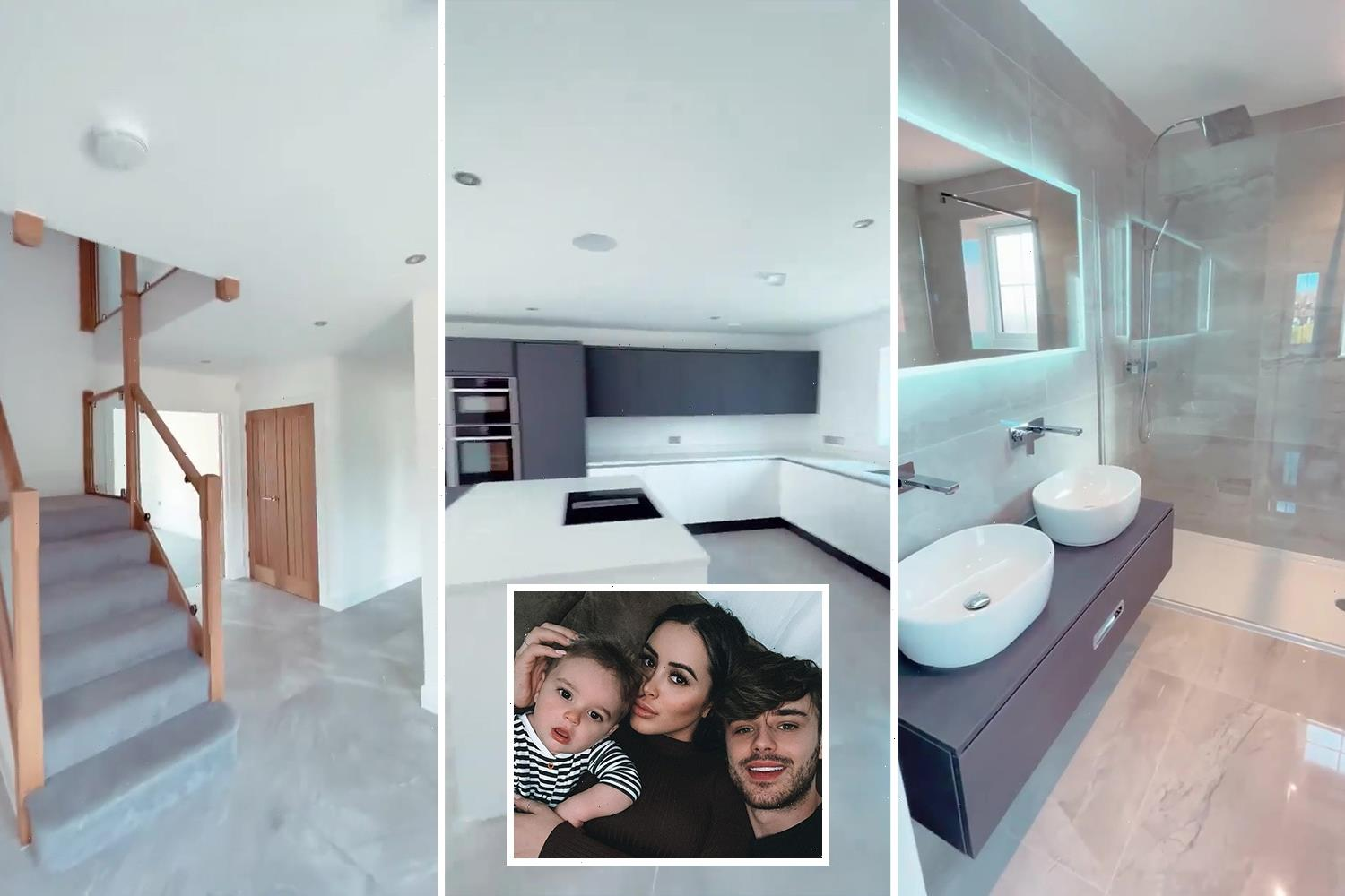 Inside Marnie Simpson's incredible £1.5m new home with three walk in wardrobes and SEVEN bathrooms
