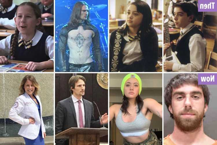 School of Rock: Where the stars from the Jack Black film are now from frontline medics to a Texas district attorney