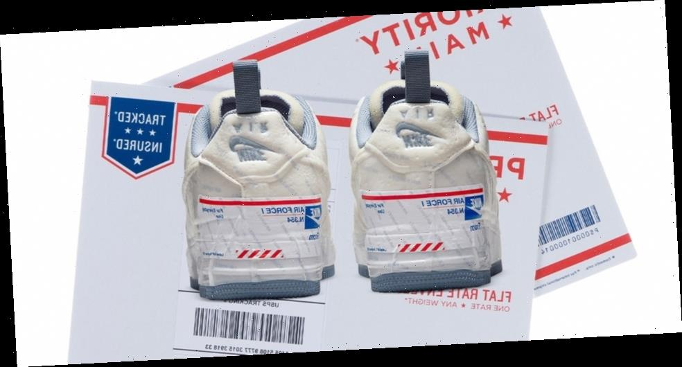 The USPS Isn't Happy About Nike's Priority Mail-Inspired Air Force 1 Experimental