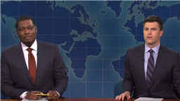 'SNL's Weekend Update Takes Aim At Elon Musk, Donald Trump's New Website & Florida Governor Ron DeSantis; Musk's Financial Expert Demystifies Cryptocurrency