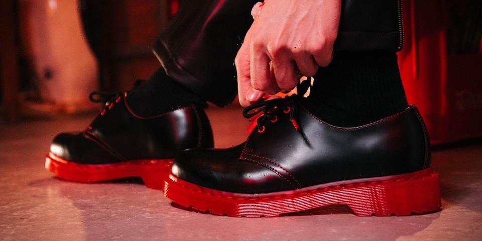 CLOT and Dr. Martens' Signature Stylings Collide on New 1461 Collaboration