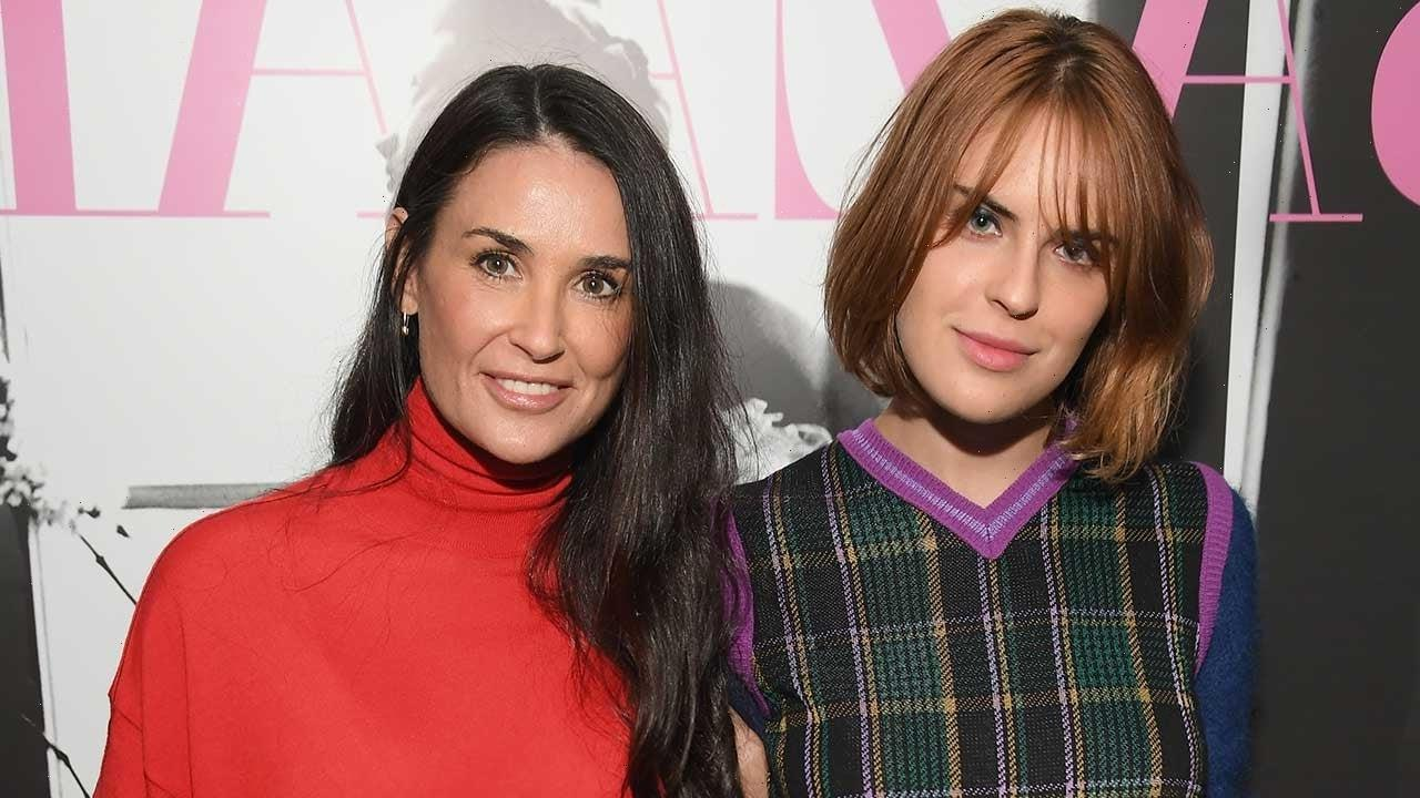 Demi Moore Shares Sweet Reaction to Daughter Tallulah's Engagement