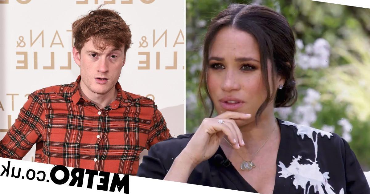 James Acaster thinks anyone in Meghan's position would have struggled to cope