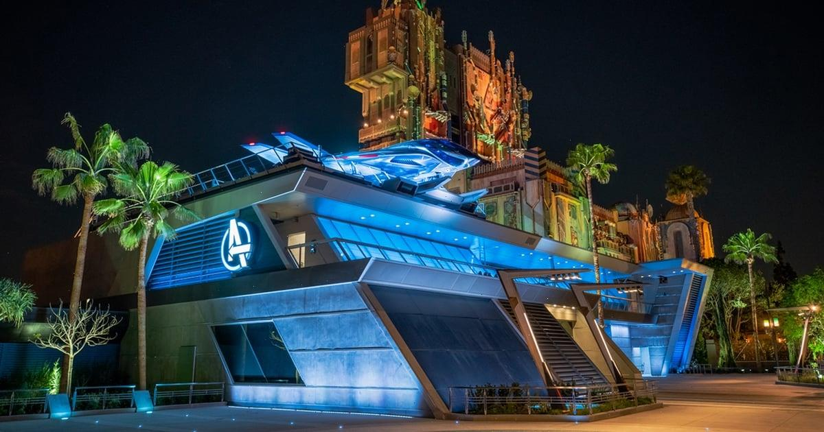 Marvel Fans, Assemble For a Sneak Peek at Disneyland's Avengers Campus, Opening in June