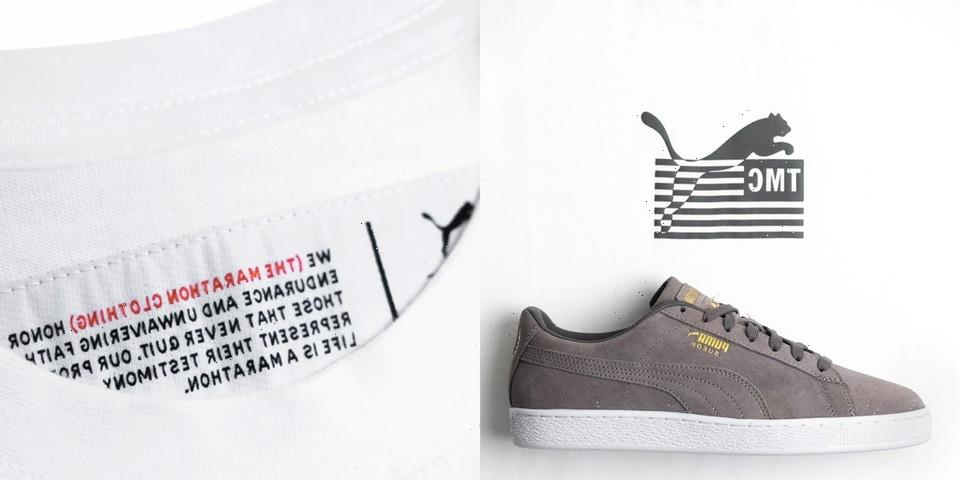 Nipsey Hussle's The Marathon Clothing and PUMA Ready Collaborative Suede and T-Shirt