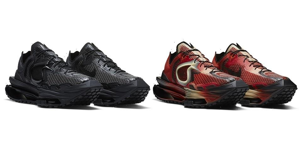 """Official Looks at Matthew M Williams' Nike Zoom MMW 4 in """"Rust Factor"""" and """"Triple Black"""""""
