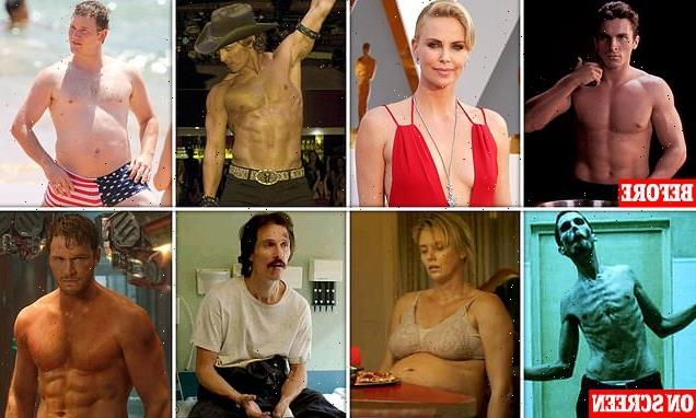 Revealed: Most startling film transformations of all time
