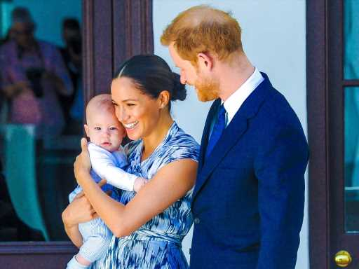 Meghan Markle & Prince Harry's Son Archie Is Already a Very Involved Big Brother to Baby Sister Lilibet
