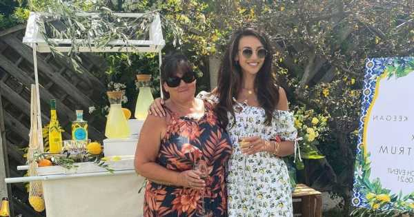 Michelle Keegan stuns as she shares rare snap with her mum Jacqueline at beauty launch