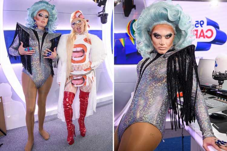 TV star gets incredible makeover from Drag Race's Bimini – but can you guess who?