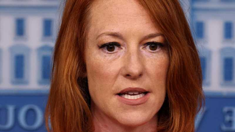 Why Jen Psaki's Press Conference Visitor Has The Internet Buzzing