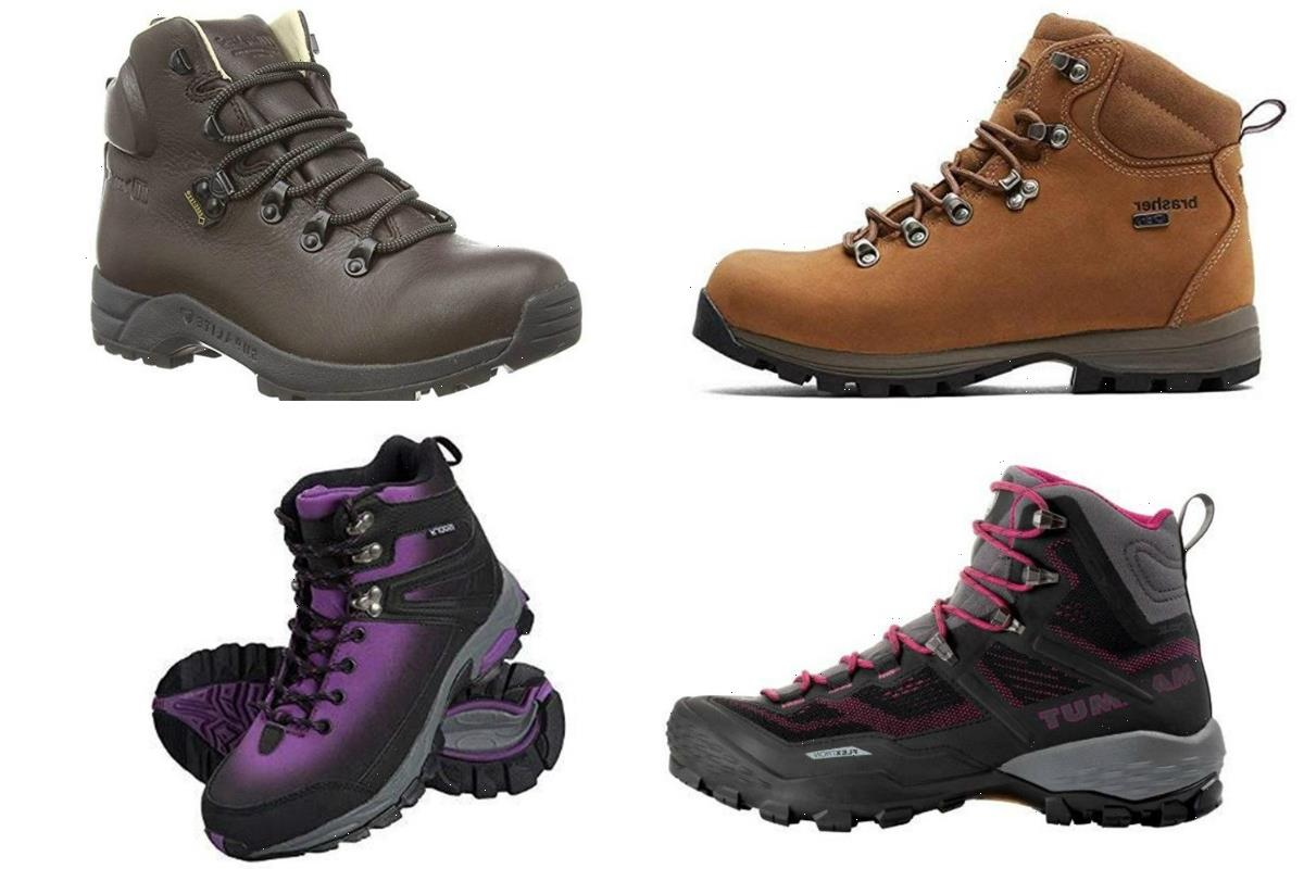 7 Best Hiking Boots for Women 2021   The Sun UK