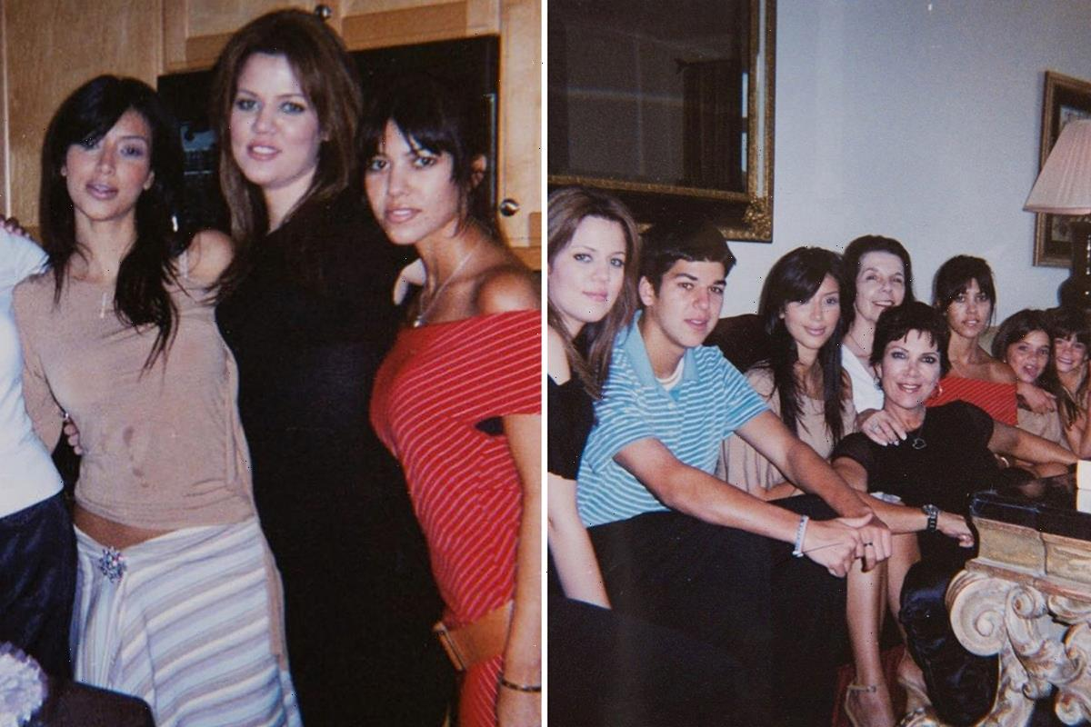 Kim, Khloe & Kourtney Kardashian look 'different' in Kris Jenner's never-before-seen photos from daughters' teen years