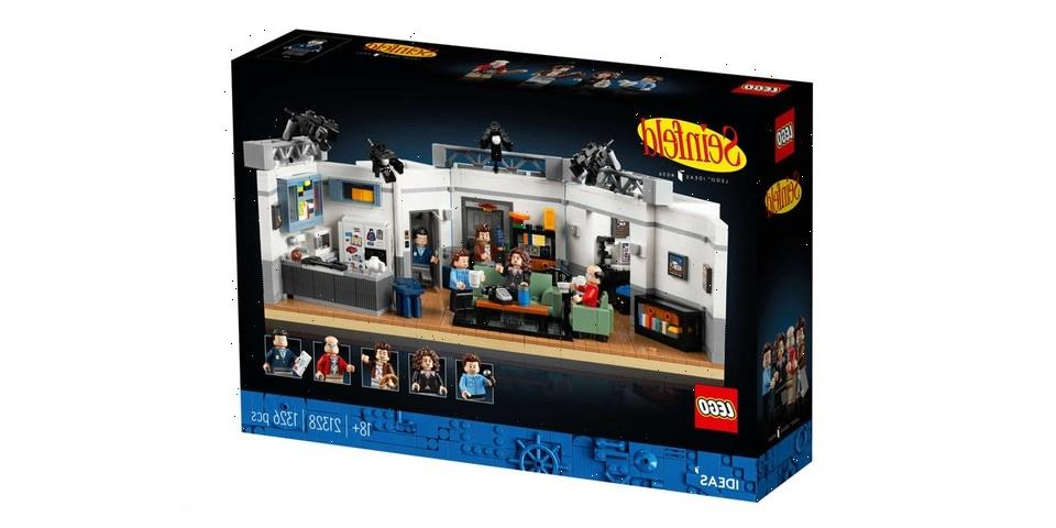 LEGO Unveils Buildable Replica of the Iconic 'Seinfeld' Set