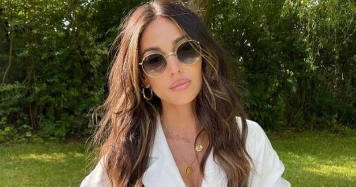 Michelle Keegan sends fans wild as she poses with lookalike family in sweet snap