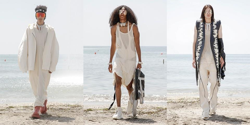 Rick Owens's SS22 Collection Embraces Hedonism