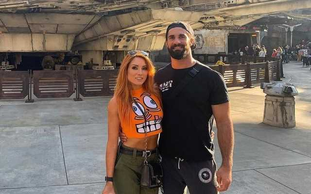 Seth Rollins and Becky Lynch Get Married
