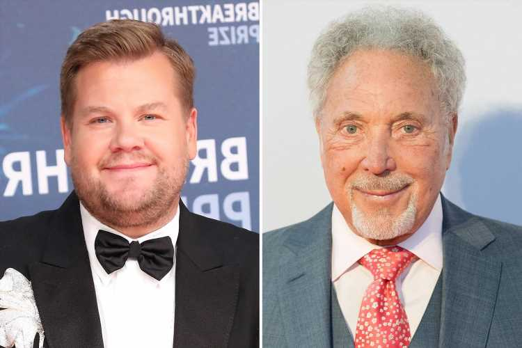 Sir Tom Jones signs up for James Corden's Mammals – his first comedy series since Gavin and Stacey