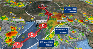 Gulf Coast residents warned to prepare for a Category 3 hurricane as Ida looms