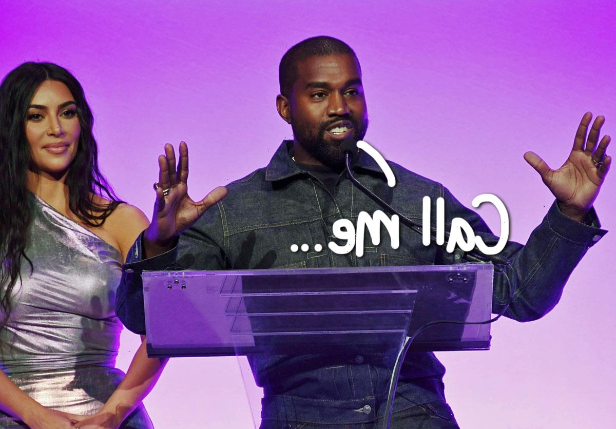 Kanye West Files To Legally Change Name To 'Ye'!