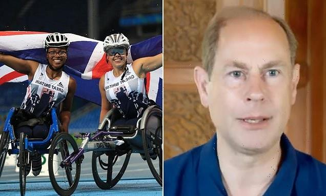 Prince Edward wishes British Paralympic team 'best of luck'