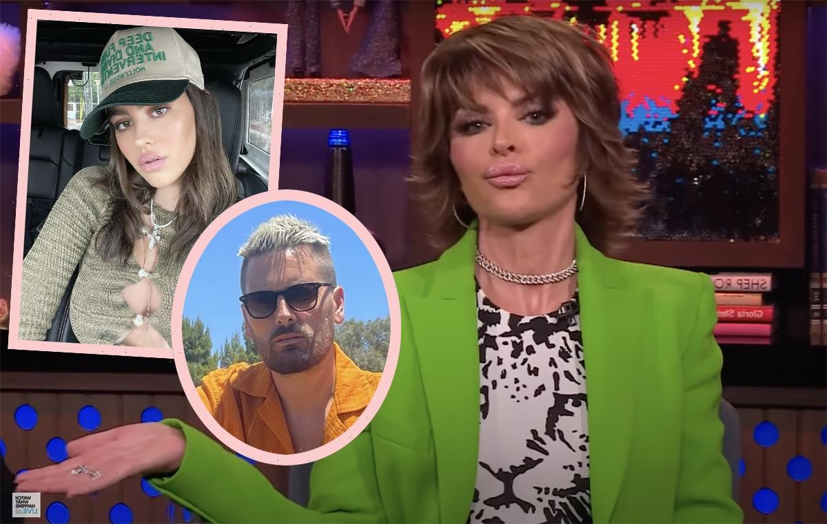 Seems Like Lisa Rinna Has Changed Her Tune About Daughter Amelia Hamlin Dating Scott Disick!