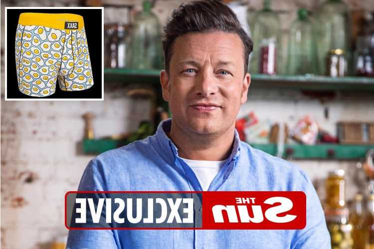 Jamie Oliver buys his male staff BOXER SHORTS after his own eureka moment