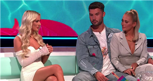 Love Island winners Millie and Liam have VERY awkward reunion with Lillie on Aftersun