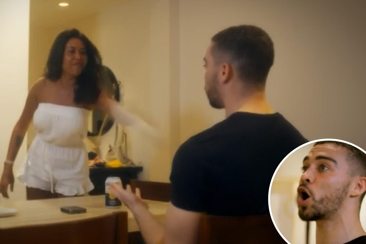 Married at First Sight fans disgusted as 'vile' Nikita turns physical and hurls drink at Ant on honeymoon