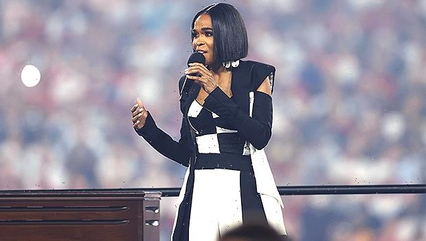 Michelle Williams Fans Go Wild After She Performs National Anthem At NFL Season Opener