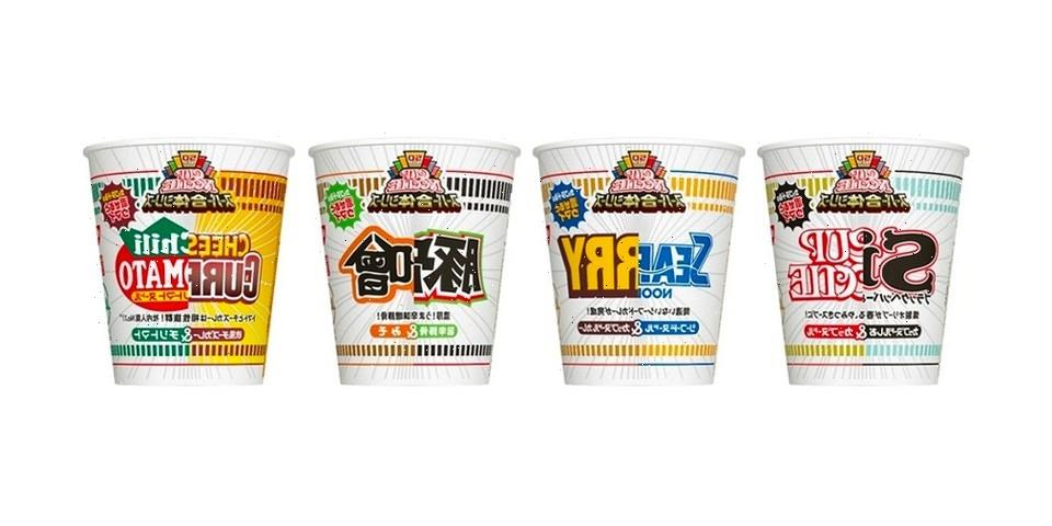 Nissin Combines Standard Flavors To Create a New Cup Noodles Series