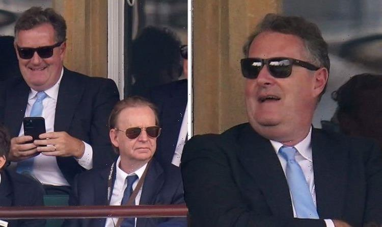 Piers Morgan pictured sitting behind ITV boss as rumours swirl about his return to GMB