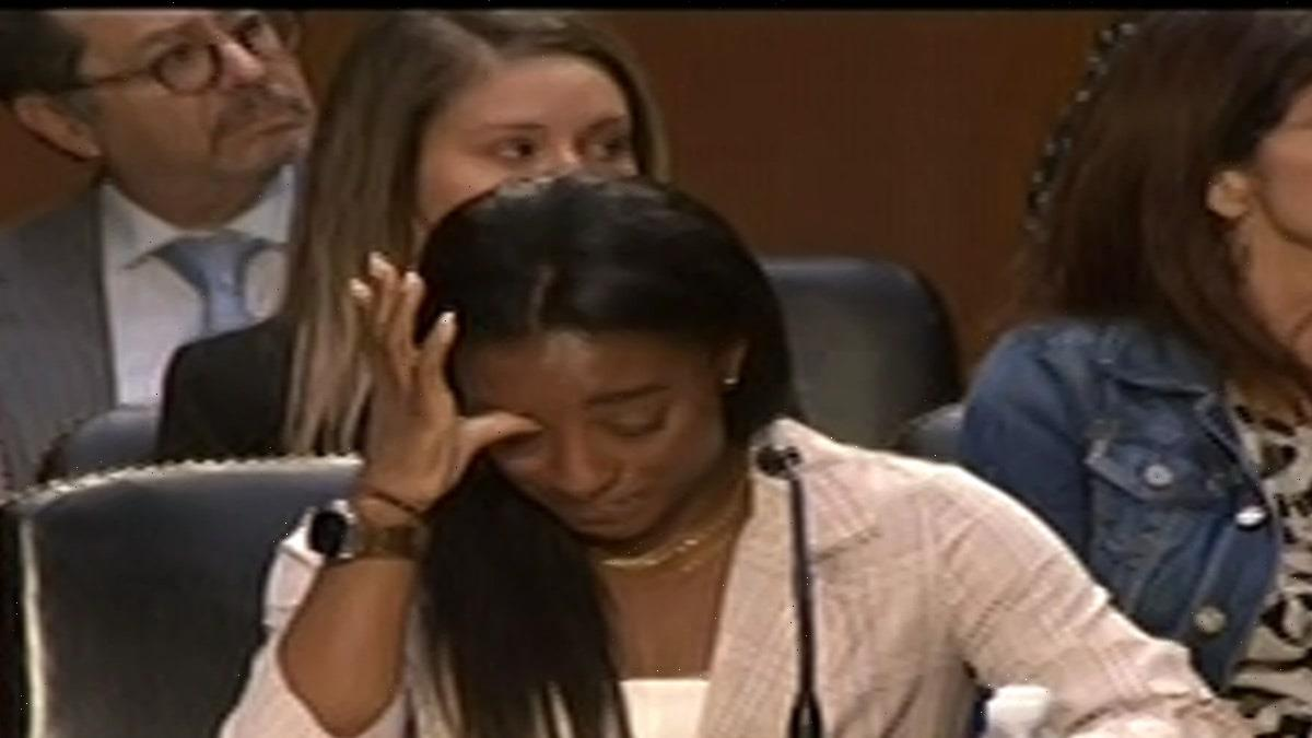 Simone Biles Gets Emotional Testifying On Capitol Hill, System Failed Me