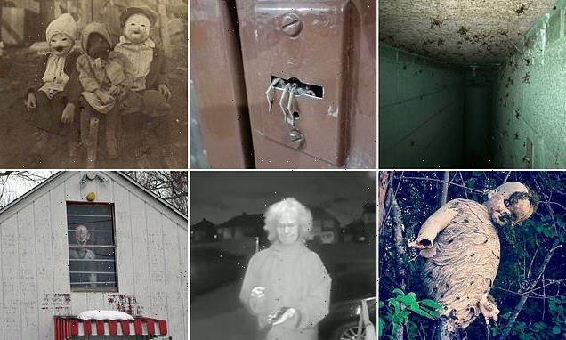 Social media users share the creepiest photos they've ever seen