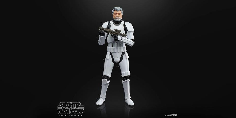 'Star Wars' Honors Director George Lucas With His Own Stormtrooper Action Figure