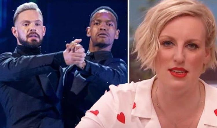 Steph McGovern reacts to co-star John Whaites Strictly performance: Cried my eyes out!