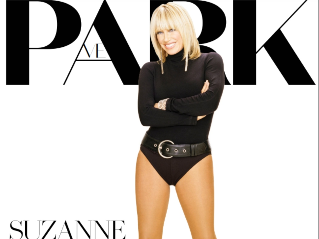 Suzanne Somers Is a Fitness Inspiration in This Gorgeous New Bodysuit Photo For Park Magazine