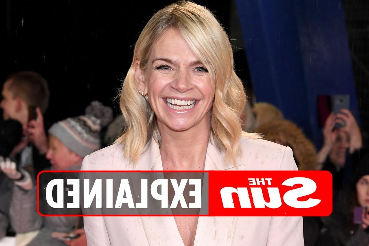Why did Zoe Ball leave It Takes Two?